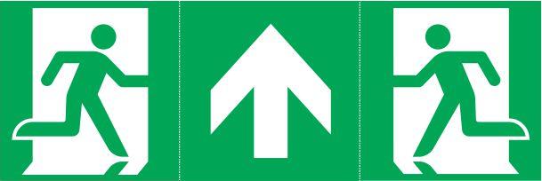 Znaki ewakuacyjne do oprawy awaryjnej ONTEC S